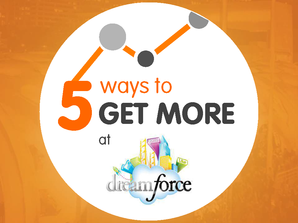 5 Ways to GET MORE BUSINESS at Dreamforce - Front Cover - 141001